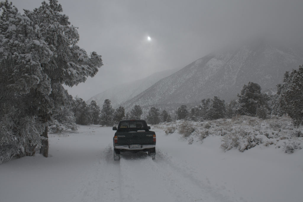 Death Valley Winter Storm